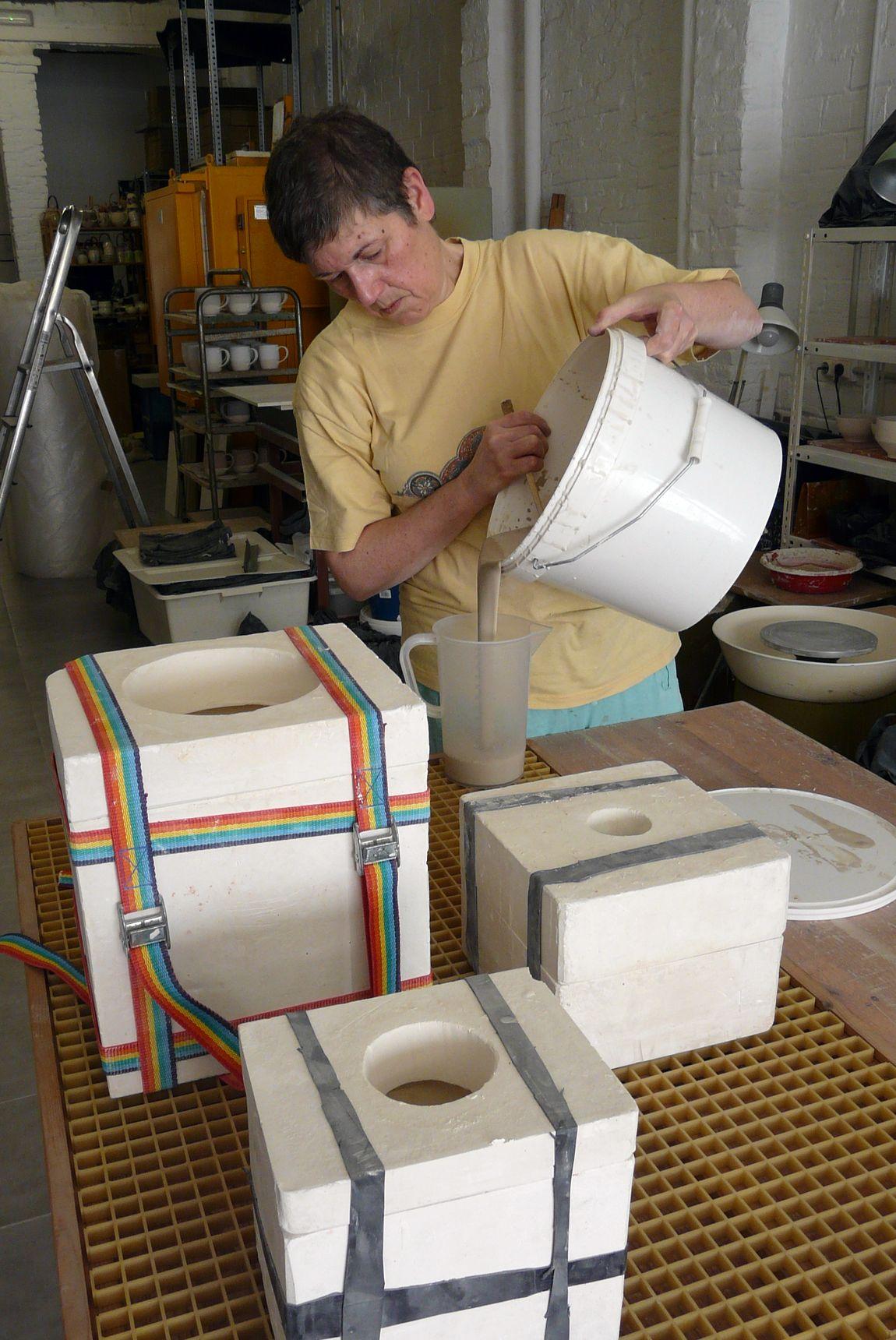 Artesania ceramica de alta temperatura: Moldes ceramica